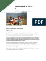 Alerta Por Hambruna en La Sierra Tarahumara