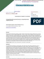 Psicologia para América Latina - Comportamento pessoal versus comportamento organizacional