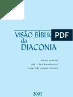 a visão bíblica da diaconia