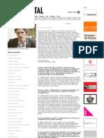Nicolas Bourriaud Entrevista Arte Capital