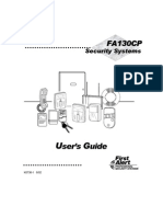 FA130CP User Manual