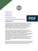 FISIPATOLOGIA TRAUMATISMO CRANEOENCEFALICO