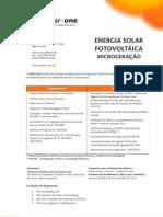 Solar One - Oferta de Microgeração