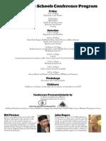 Social Justice Schools Conference Program