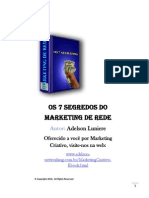 7 Segredos Do Marketing de Rede