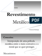 Revestimento metálico