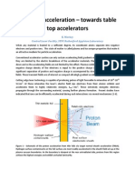 K. Markey- Laser-ion acceleration – towards table top accelerators