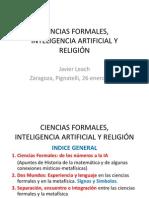 Ciencias Formales y Religion