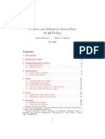 Sp - Classes for Spatial Data