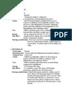 Analgesic Drug
