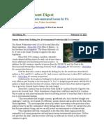 Pa Environment Digest Feb. 13, 2012