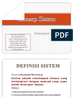 Presentasi Konsep Sistem