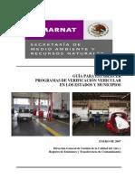 Guia Para Establecer Un Programa de Verificacion Vehicular