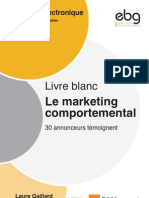 Le Marketing Comportemental