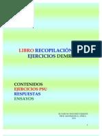 LIBRO RECOPILACIÓN PSU EJERCICIOS DEMRE