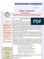 PENIEL Faith Newsletter Feb2012