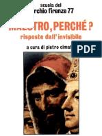 Cerchio Firenze 77 - Maestro perchè