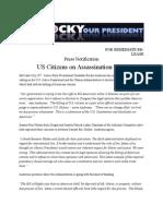 US Citizens on Assassination Lists