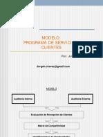Modelo de Servicio Al Cliente
