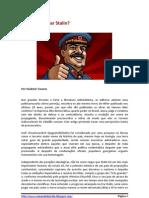 Por Que Estudar Stalin?