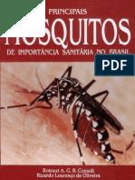 livro Principais mosquitos em saúde pública