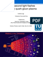 Andreas Ipp- Yoctosecond light flashes from the quarkgluon plasma