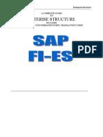 Sap Fico Enterprise Structure