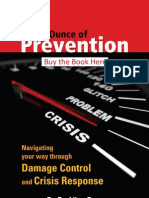 An Ounce of Prevention - On Pandemics