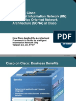 Service Oriented Network Architecture