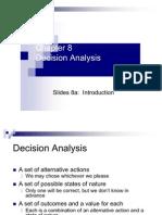 Business Analysis- Decision Analysis