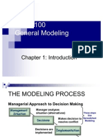Business Analysis- General Modeling