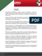 Boletín de actividades 10 de febrero de 2012
