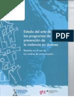 Oms 2006 - Estado Del Arte de Programas de Prevencion de Violencia en Jovenes