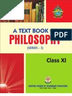 Philosophy Class Xi - Final_2011
