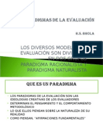 Paradigm As de Evaluación