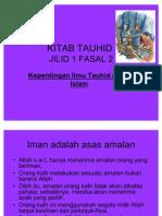 Kitab tauhid Fasal 2