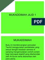 MUKADDIMAH JILID 1