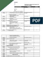 Dosificacion Semestral Sabado ores 1 Sem 2012