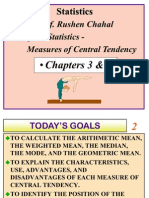 Statistics Cental Tendency