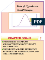 Statistics- Tests of Hypotheses
