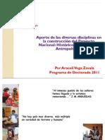 APORTE DE LAS DIVERSAS DISCIPLINAS EN LA CONSTRUCCIÓN DEL PROYECTO NACIONAL