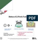 Craig Olson- Status of Z-Pinch Fusion