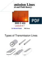 Lecture 6-7Transmission Lines