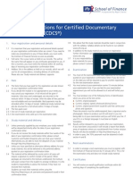 CDCS Terms and Conditions