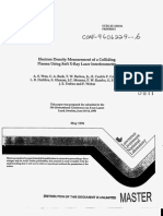 A. S. Wan et al- Electron Density Measurement of a Colliding Plasma Using Soft X-Ray Laser Interferometry