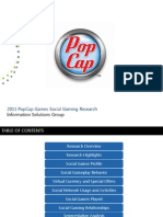 2011 PopCap Social Gaming Research Results