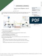 Configuration d'un point d'accès comme Répéteur sans fil