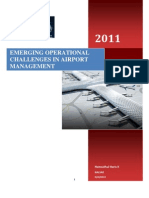 ATM-I _second Assignment_ Emerging Operational Challenges in Airport Management