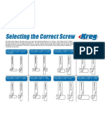 Selecting the Correct Screw