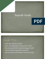 Sejarah Usrah - Beta Version